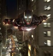 Anthony Stark (Earth-199999) flying (cut)