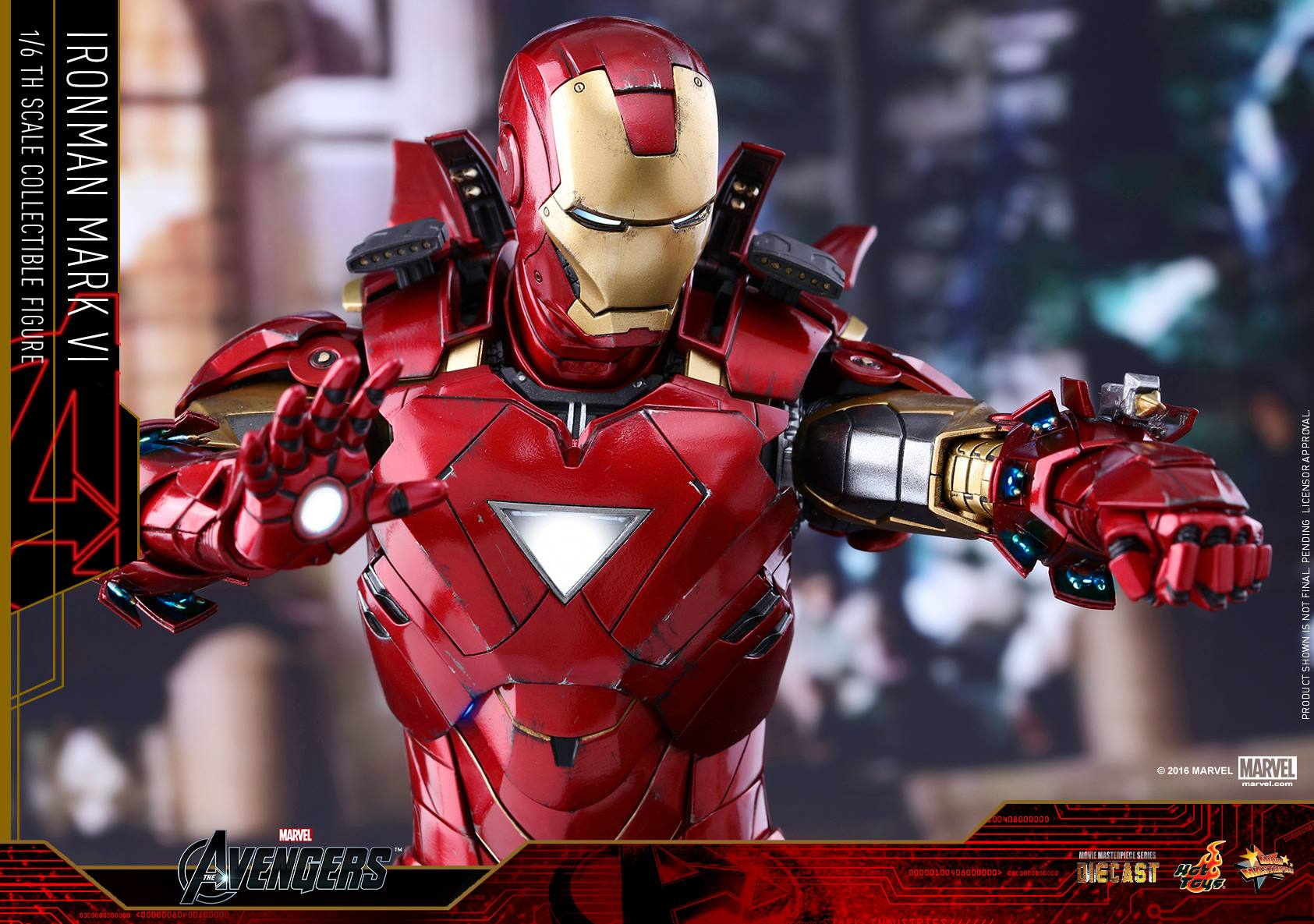 image - hot-toys-die-cast-iron-man-mark-6-sixth-scale-figure-light
