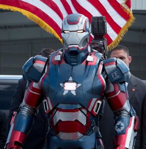 Iron Patriot Armor Film Iron Man Wiki Fandom Powered By Wikia
