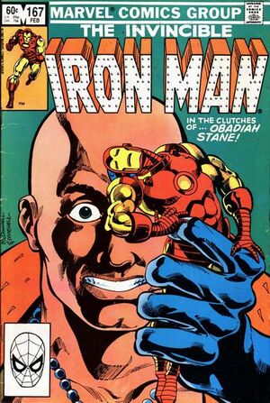 Iron Man Vol 1 167