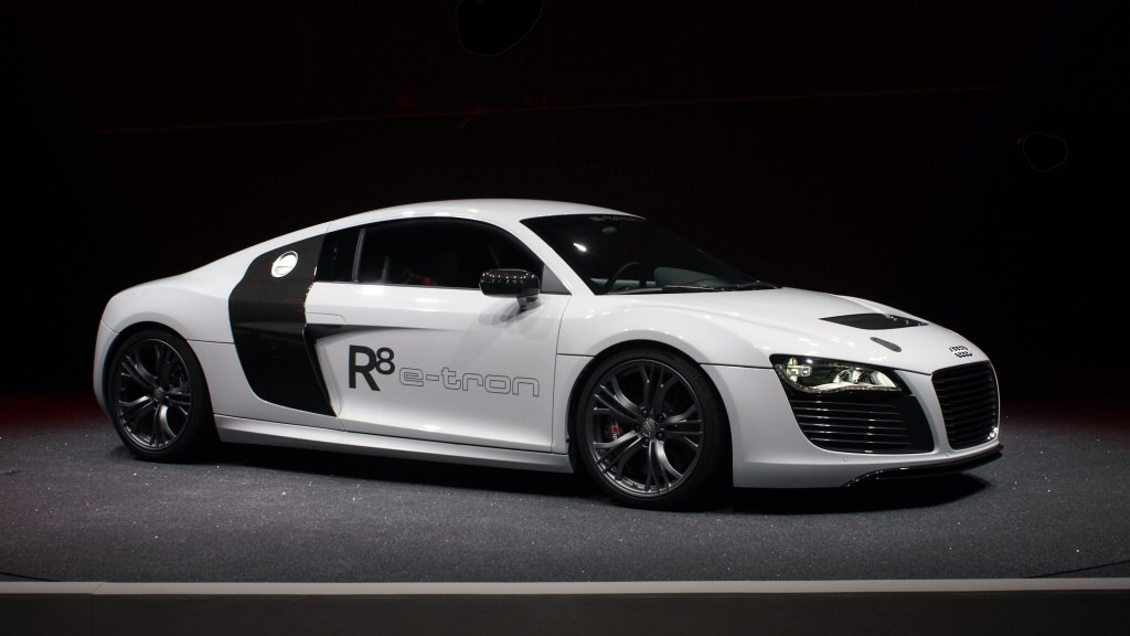 Audi R8 E Tron White Iron Man Wiki Fandom Powered By Wikia