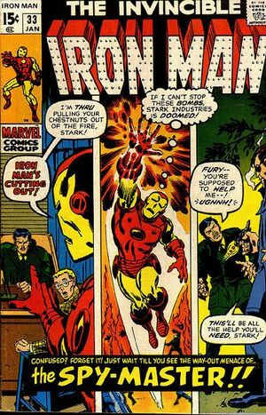 Iron Man Vol 1 33