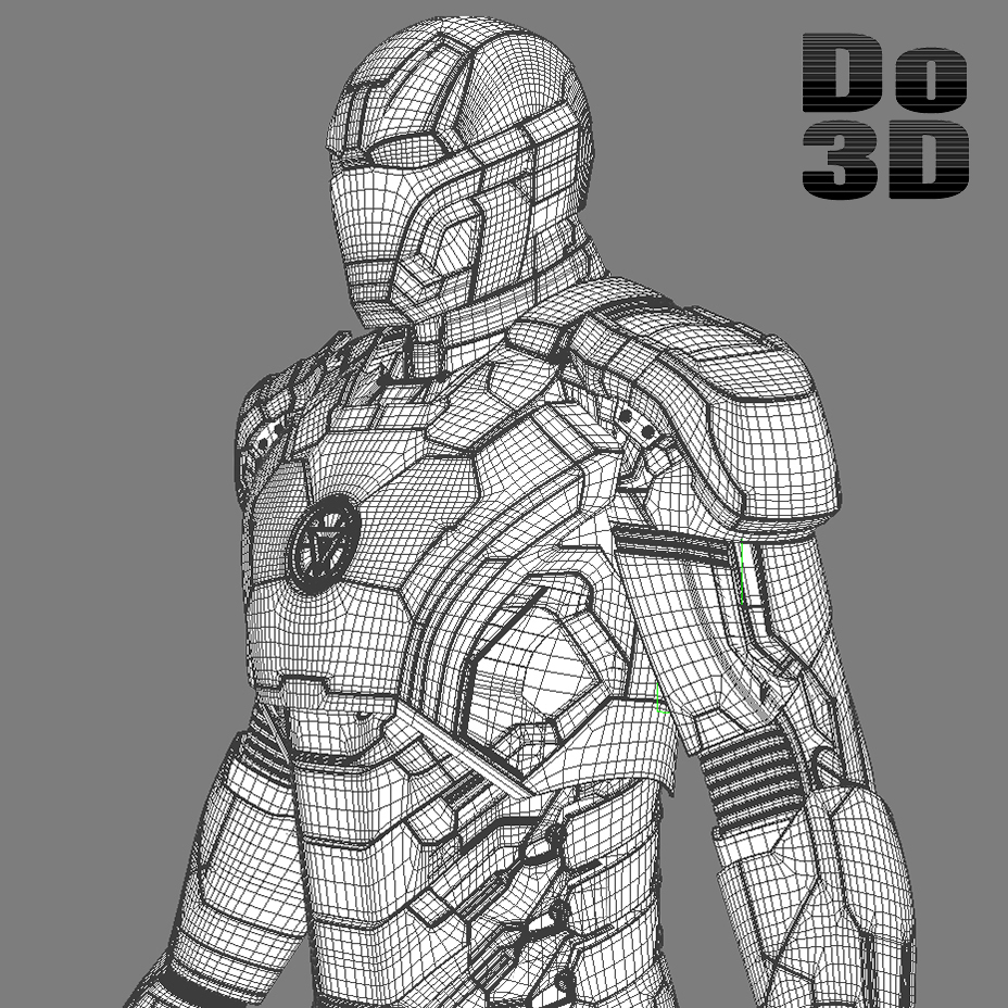 Image - Iron man 3 suits - mark 42 tony stark armor mark 17 ...