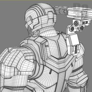 Iron Patriot Armor Film Iron Man Wiki Fandom Powered By Wikia