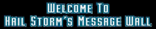 WelcomeHSWMessageWall