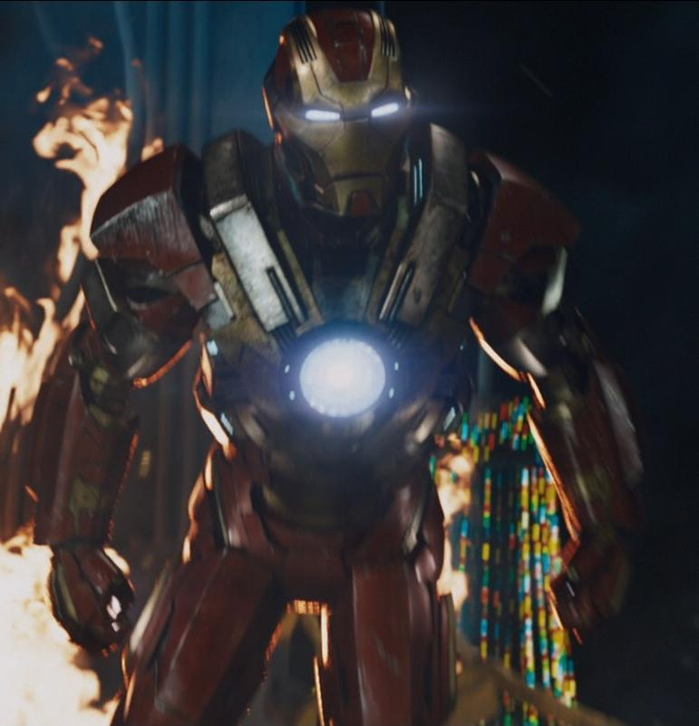 Iron Man Armor MK XVII (Earth 199999) From Iron Man 3 (film