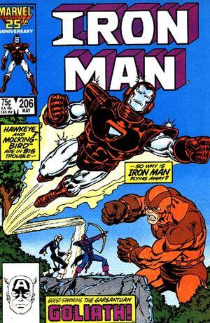 Iron Man Vol 1 206