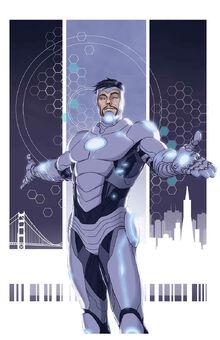 Superior iron man 1 cover cac