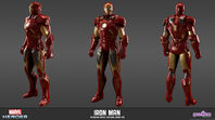 MarvelHeroes ModelSheet IronMan Avengers