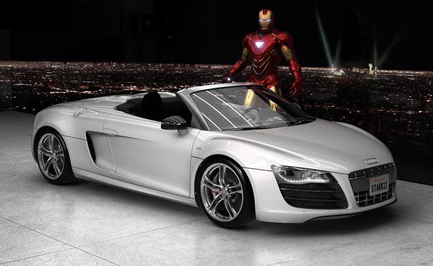 Audi R Spyder Iron Man Wiki FANDOM Powered By Wikia - Audi car wiki