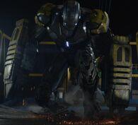 Iron Man Armor MK XXV (Earth-199999) from Iron Man 3 (film) 001