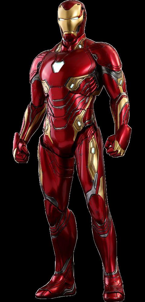 Avengers Infinity War - Iron Man Mark 48 Minecraft Skin
