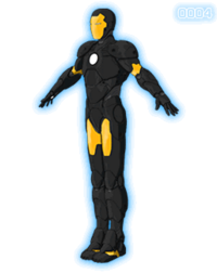 Iron Man Armored Adventures Space-armor