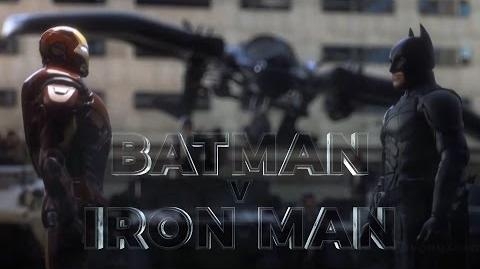 Batman vs Iron Man EPIC BATTLE Trailer