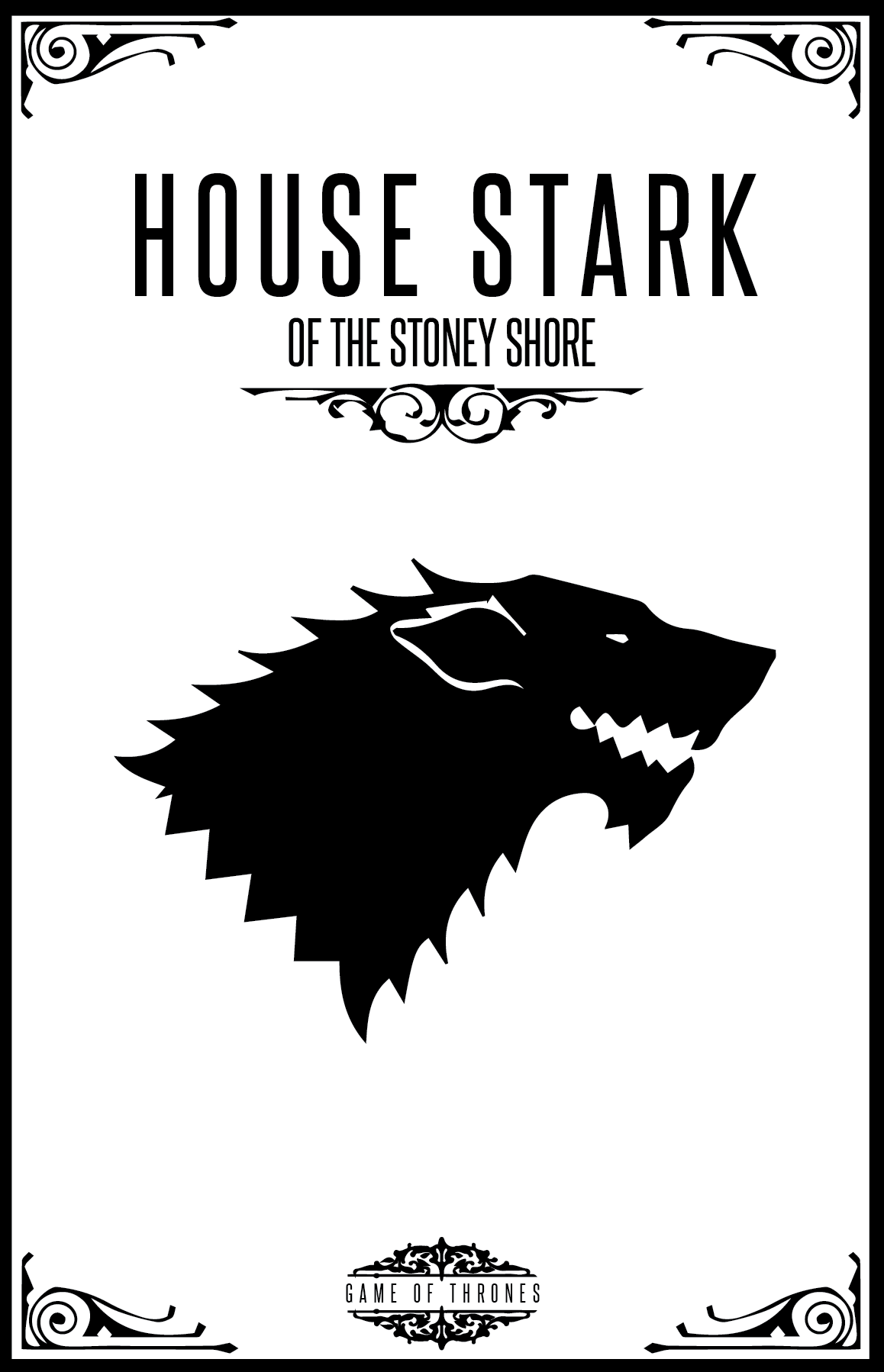 House Stark Of The Stoney Shore