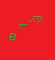 E pi sqrt163