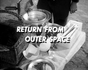 Return from outer space
