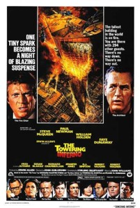 Towering inferno movie poster