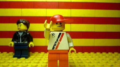 Kitchen Intruder (bed intruder) LEGO version