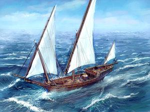 Salla s escort ship by MarcSimonetti