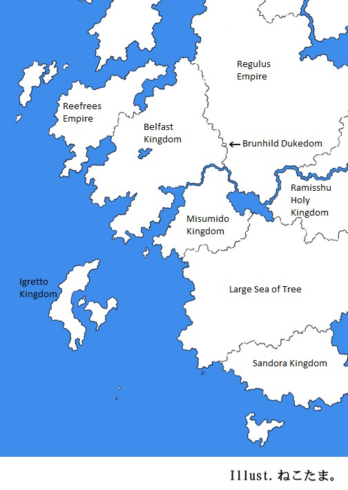 Region of Sandora | In Another World With My Smartphone Wiki