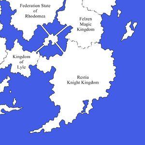 Map restia