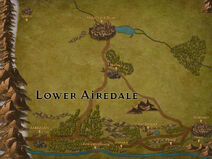 Map - Lower Airedale