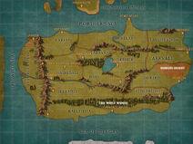 Map - Isen Main Continent