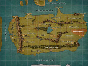 Map - Isen Main Continent