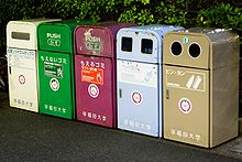 220px-Recycling bins Japan