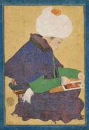 Ottoman Dynasty, Portrait of a Painter, Reign of Mehmet II (1444-1481)