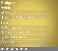 MinigunMythic
