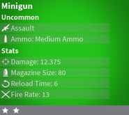 MinigunUncommon