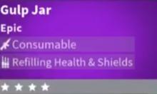 Gulp Jar In-Game Stats