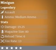 MinigunLegendary