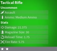 TacticalRifleUncommon