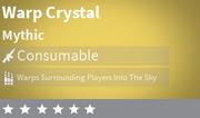 Warp Crystal