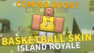BASKETBALL SKIN - ISLAND ROYALE SKIN SPEEDART