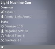 LightMachineGunCommon