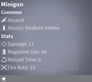 MinigunCommon