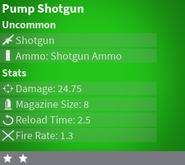 PumpShotgunUncommon