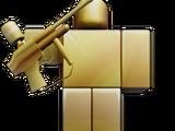 Gold Trophy Pickaxe