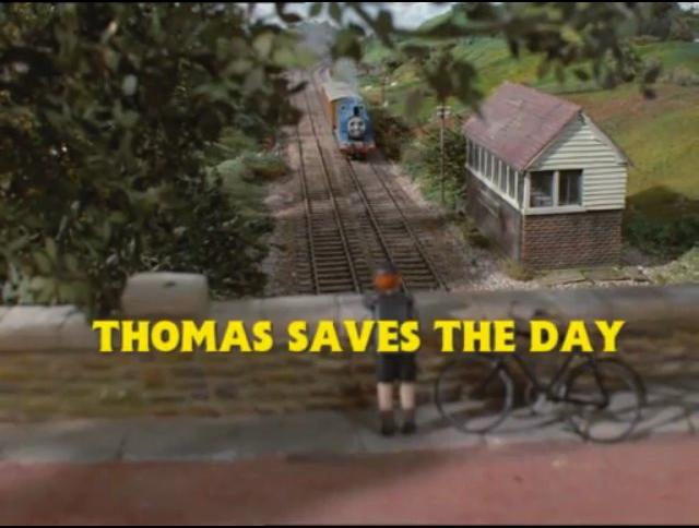 Thomas Saves The Day - Ringo Starr American Narration