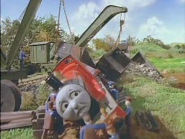 Thomas Saves The Day - American Narration