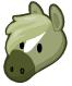 Grey shire horse barn