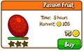 Passion fruit shop