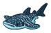 Whale shark barn