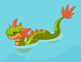 Sea monster grownup