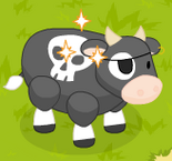 Jolly roger cow harvestable