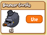 Bouncer Gorilla Inventory